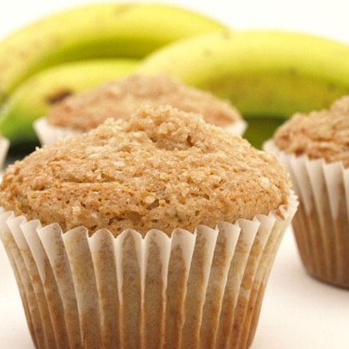 Deliciosos Cupcakes de Plátano