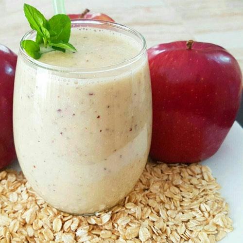 Un delicioso Licuado de Avena con Manzana