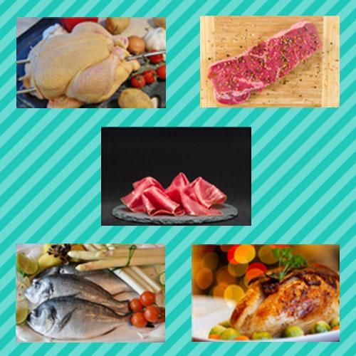 Ejemplos de fuentes de proteínas