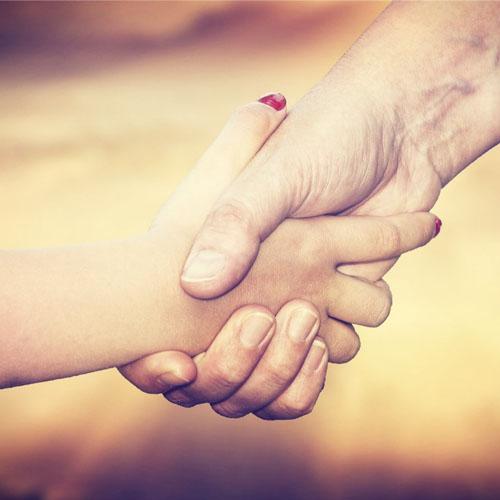 Para ayudar sólo es cuestión de extender la mano